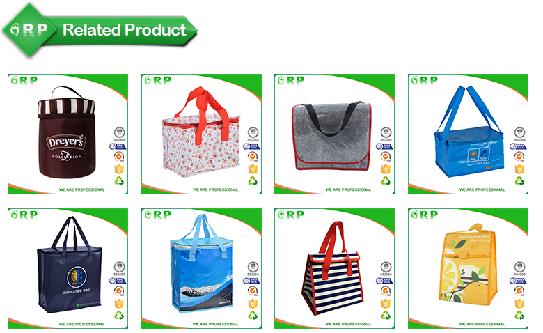 ISO/BSCI Customized fitness promotion cheap thermal picnic cooler lunch bag