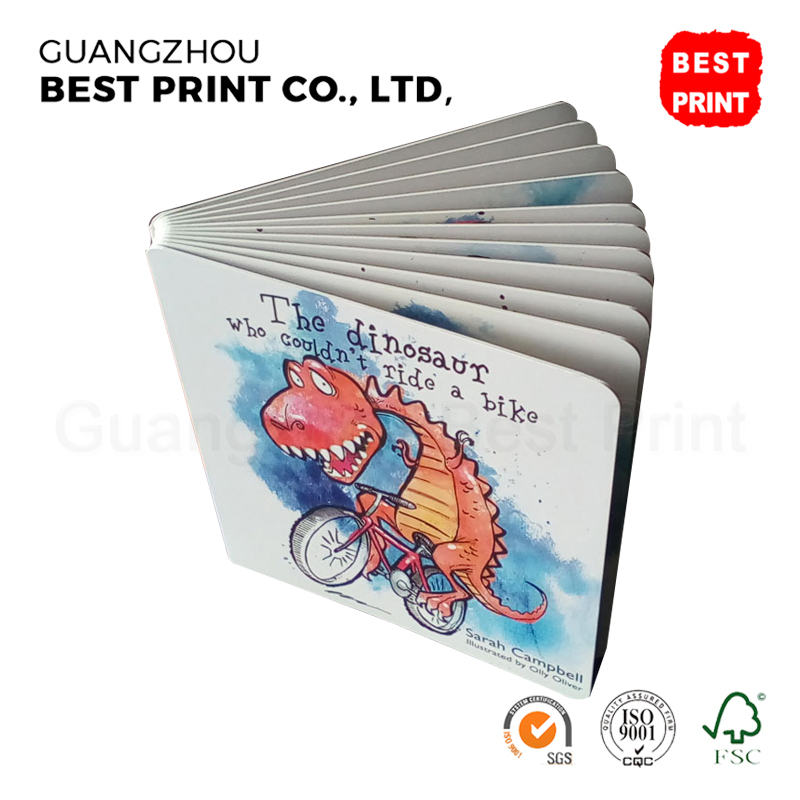 professional factory machine made custom printing service hardcover children books printing cheap cardboard kid book