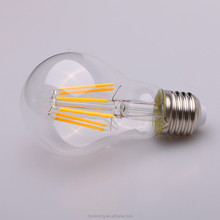 China gold supplier supreme quality a60 5w led light filament bulb lights