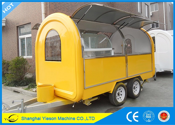 YS-FV400D Yieson High Quality foodtruck kebab and ice cream van