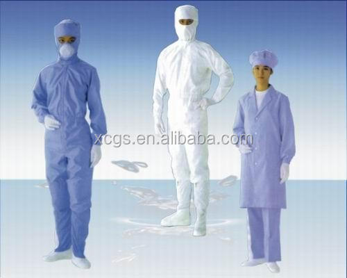 new esd pullover cleanroom suit/overcoat