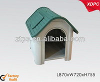 Large plastic pet house with window