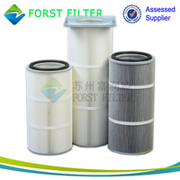 FORST High Quality Industrial Air Filtration Filter Cartridge Manufacture