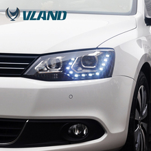 CE CCC ISO9001 Vland China factory direct price aftermarket car parts auto part vw jetta custom car headlights