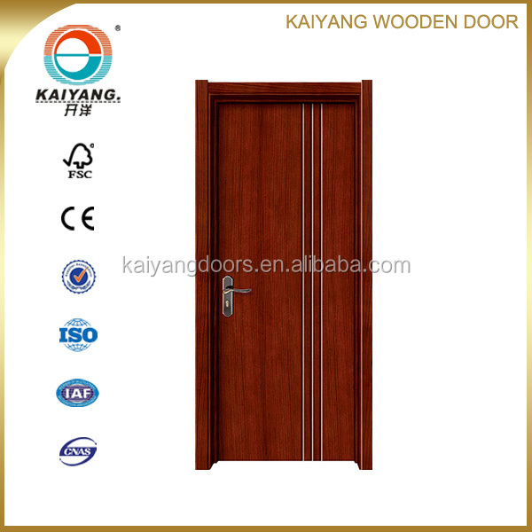 interior quality dubai project wood veneer painting door design