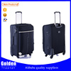 China caster spinner heavy duty zipper luggage 210D lining suitcase