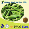 Free Sample Herbal Extract Natural Dried Okra Powder