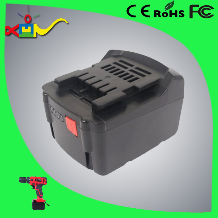 rechargeable battery replace for Metabo 14.4v li-ion battery 625526000