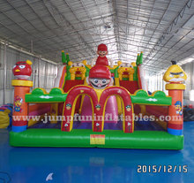 10x7 meter Inflatable amusement park children Large inflatable fun city for commercial jumping arena