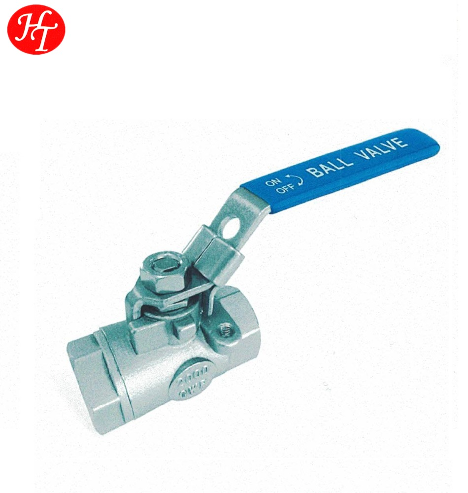 "1/2"" DN15 BSP female thread SS304/316 2pc cf8m/CF8 ball valve"