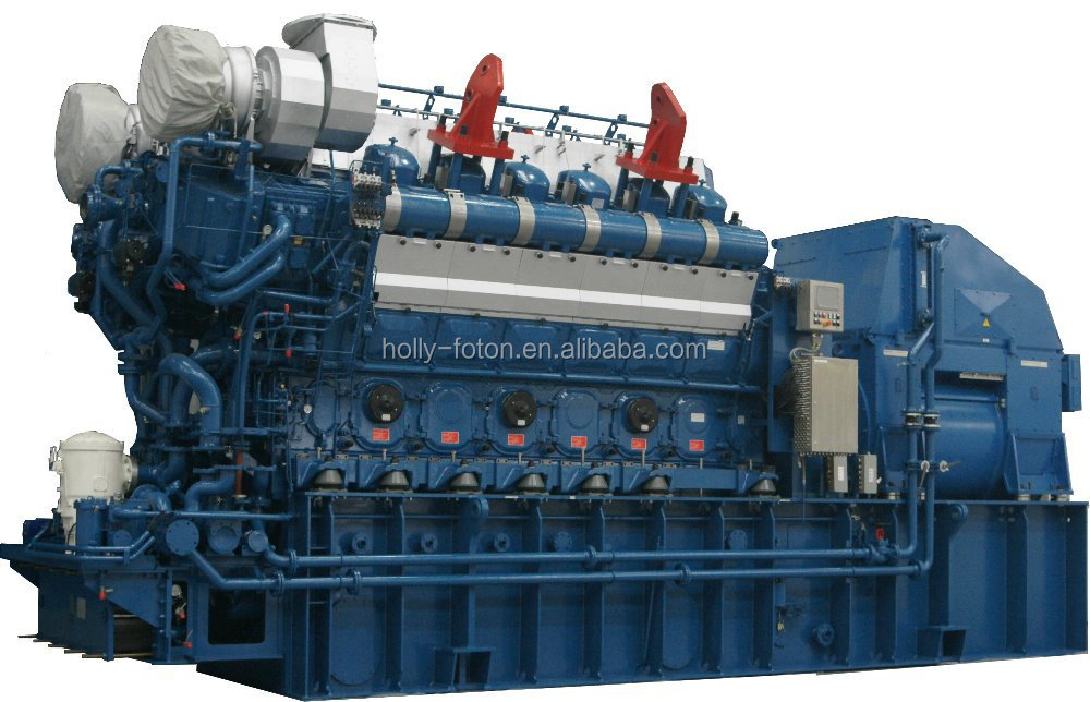 500KW-10000KW HFO MAN power generator (Include power station design)