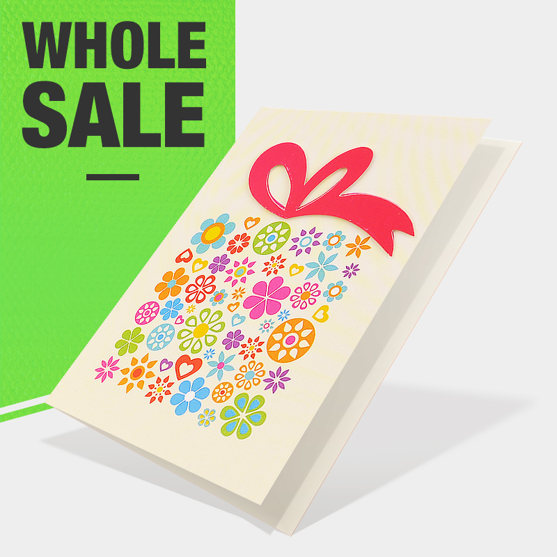 Wholesale printed birthday greeting cards online buy best printed cheap floral 4c strongprintingstrong pattern happy strong m4hsunfo