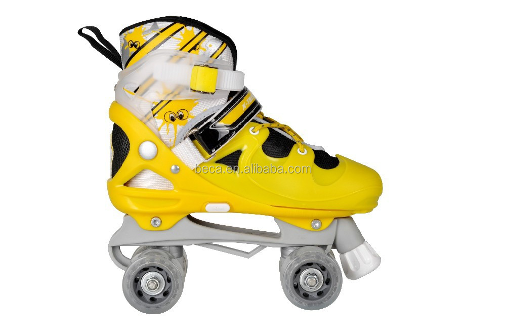 Quality children skating shoes sport quad roller skate professional for kid with CE (Chna factory sale)