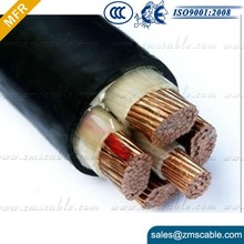 0.6/1kv 4 core copper cable armoured cable 120mm for welding machine
