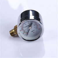 High Strength Normal Pressure Gauge Durable LightWeight Easy To Read Clear gas cylinder gauge