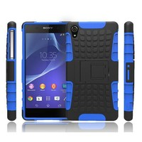 Heavy Duty Shockproof Hard Case For Sony Xperia Z2