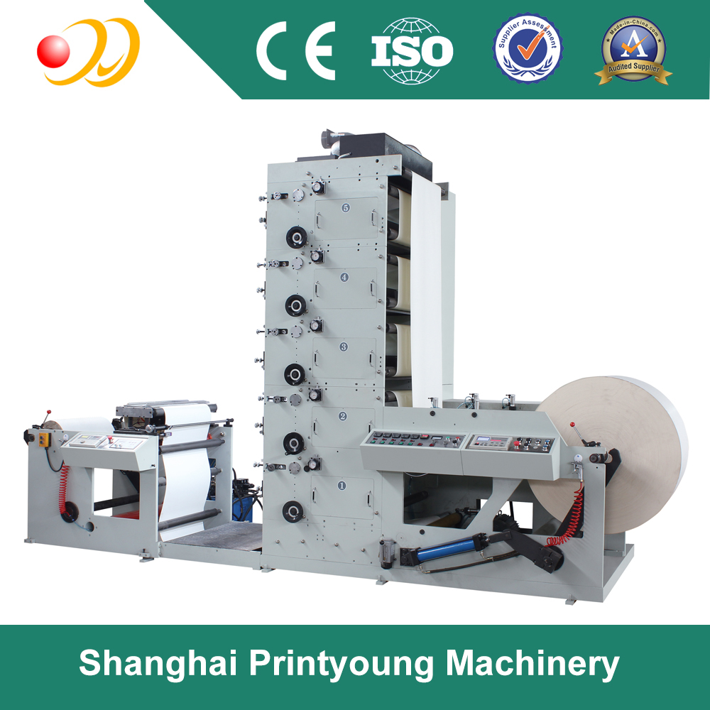 RY-850/650 1-5Colours Automatic flexography printing machine