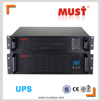 Popular High frequency 3KVA Rack mount online sine wave UPS 2kw ups import in china