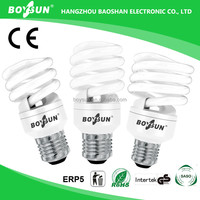 100% Triphosphor 8W 12W 14W 20W 23W Cfl Bulb Cfl Lamp Energy Saving Light Bulb