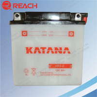 High Quality Cheap Price of 12V Batrex Motorcycle Battery from Chinese Factory