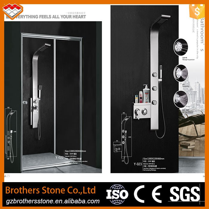 High Quality Thermostatic Shower Panel Bathroom Shower Pannel