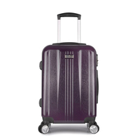 Latest 100%pc & silent universal aircraft wheel trolley luggege travel bags