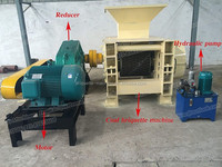 Automatic type Pyrolysis Carbon Briquette Machine/ Briquettes Making Machine/ Briquette plant