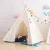 Hot sale kids play indian teepee tipi tent with Wood Pole