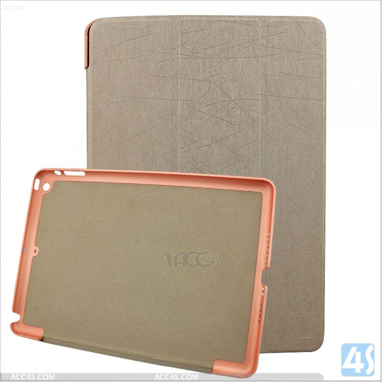 ultra thin leather case for ipad air