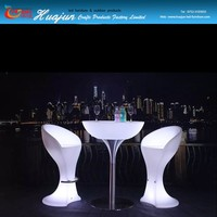 hot sale led bar table furniture & different size coffee table used outdoor and indoor