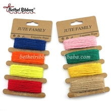 Cheap Multi Color Natural hemp twine jute rope