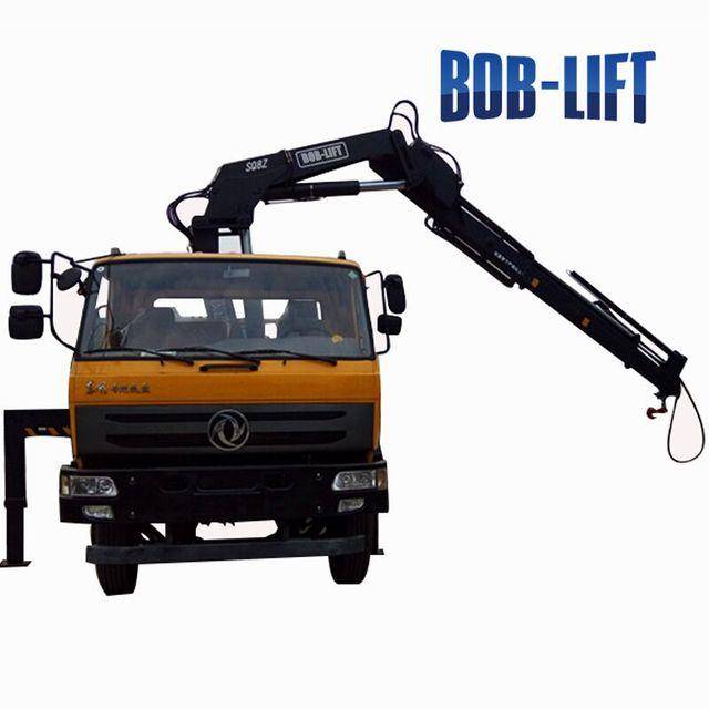 Knuckle Crane Truck 3 ton Hire in Dubai