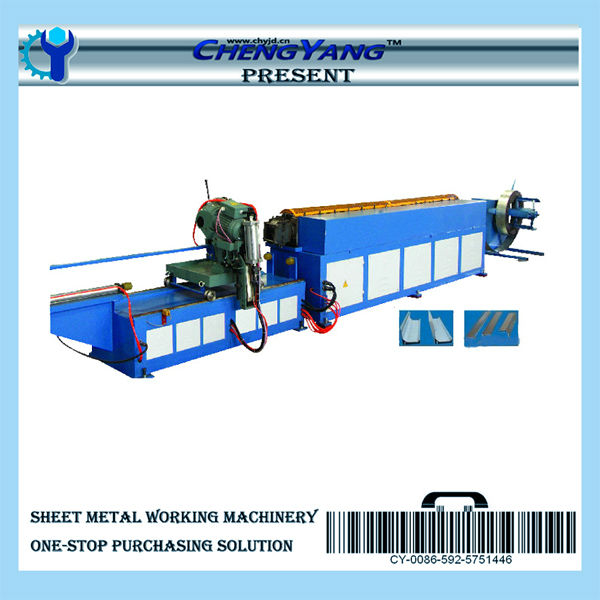 TDC Metal Sheet Flange Forming Machine for Air Duct