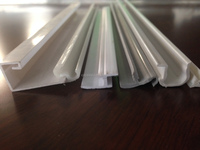 PVC Plastic Profile/ Customized Size C/U Channel/ Window Profile