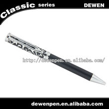 2013 hot selling luxury carbon fiber pen with m logos