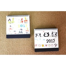 Cartoon Table Calendar