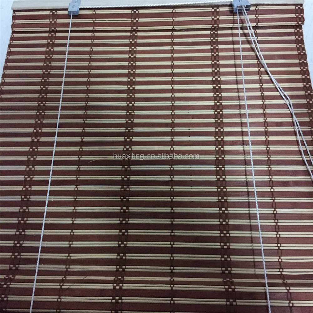 Roll Up Blinds : Bamboo roll up window blind outdoor venetian
