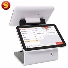 CashCow big touch screen smart Mobile Handheld Android POS Tablet EFT with Fingerprint Scanner