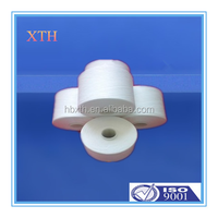 100% spun polyester yarn manufacturer in china ,ring spun yarn 45s/2