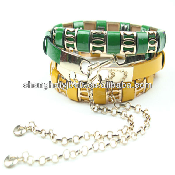 FASHION METAL CHAIN PUNK BELT FOR MAN AND WOMAN