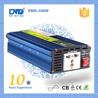 Energy saving 500w small pure sine wave car power inverter for single phase motors