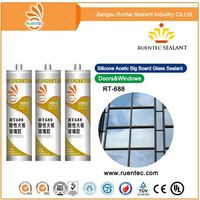 Acetic One Part Silicone/Building Glass Silicone Sealant/Kenya Market Sealant Acetic