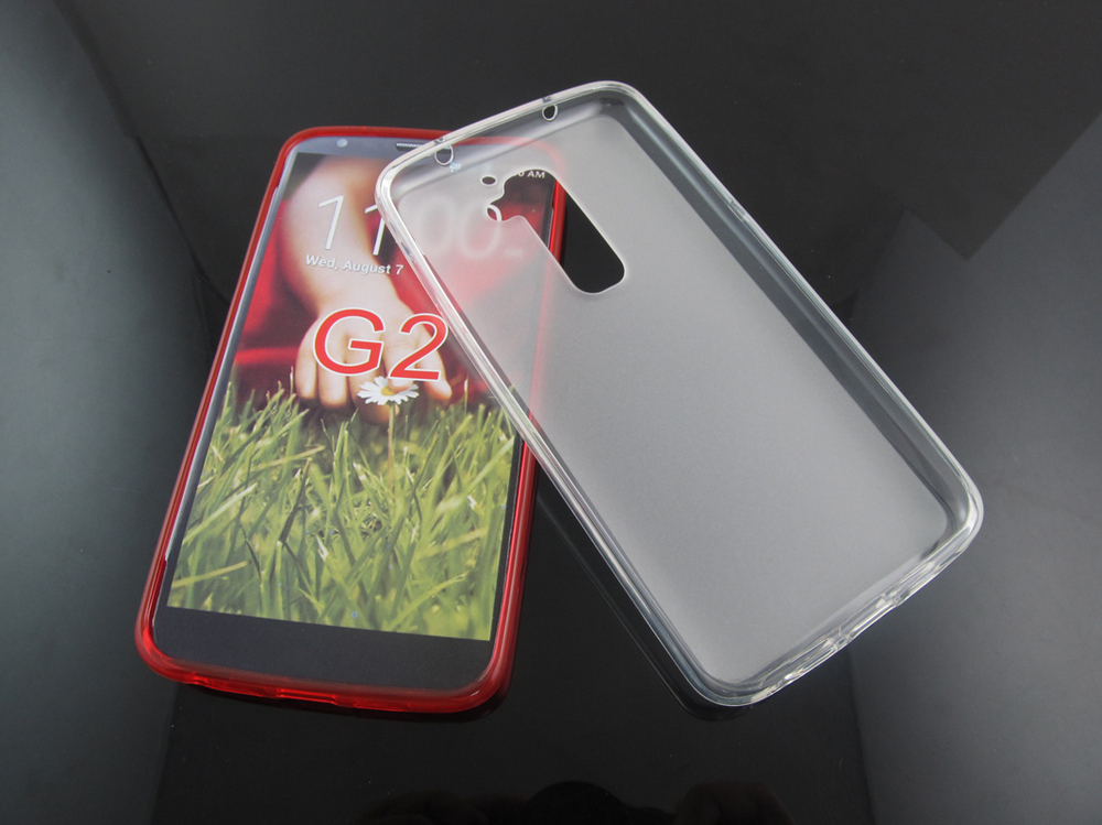 Puding flexible gel tpu case for lg g2, for lg g2 case ultra thin