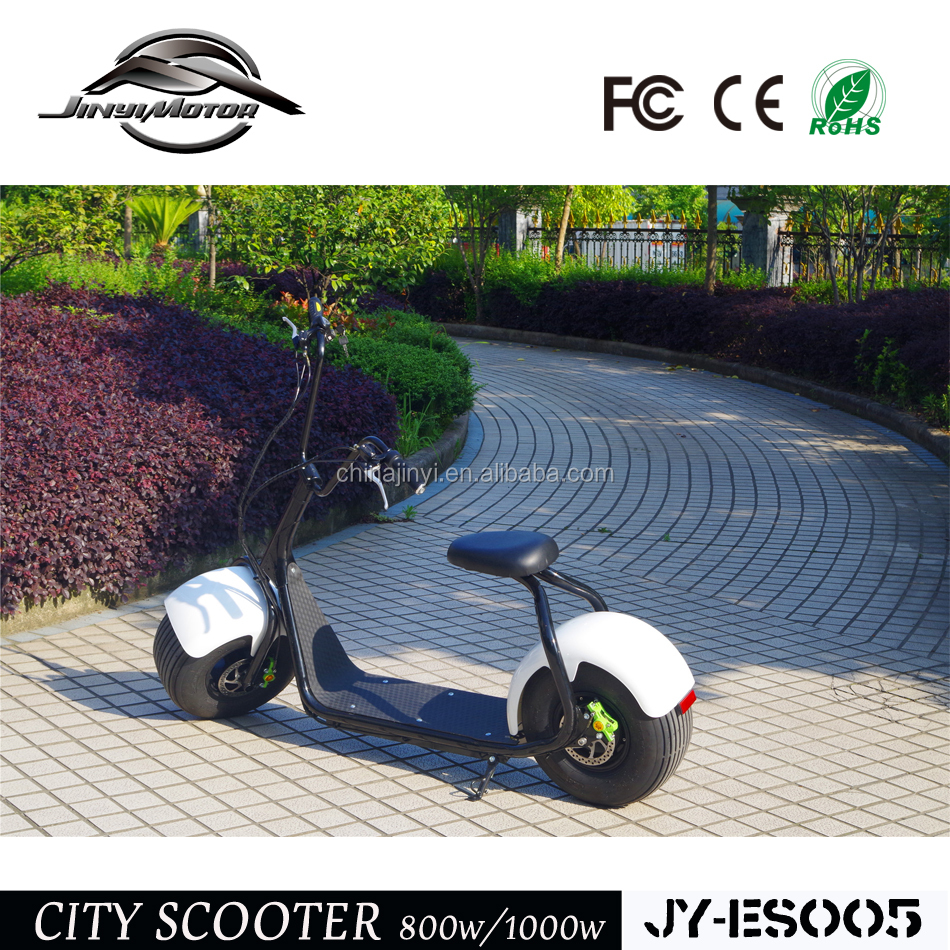 CE Approved Theftproof Fat Tyre <strong>City</strong> Electric Scooter 1000W For Sale