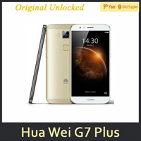 "Original 5.5"" Huawei G7 Plus 4G LTE Snapdragon 615 Octa Core Android 5.1 2GB RAM 16GB ROM 13.0MP Camera Cell Phone"
