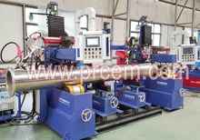 Pressure type pipe flange automatic welding machine for prefabricated