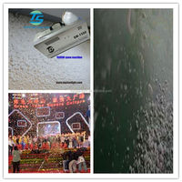 Snow Machine with DMX512, 1500W Artificial snow effect Maker for stage show