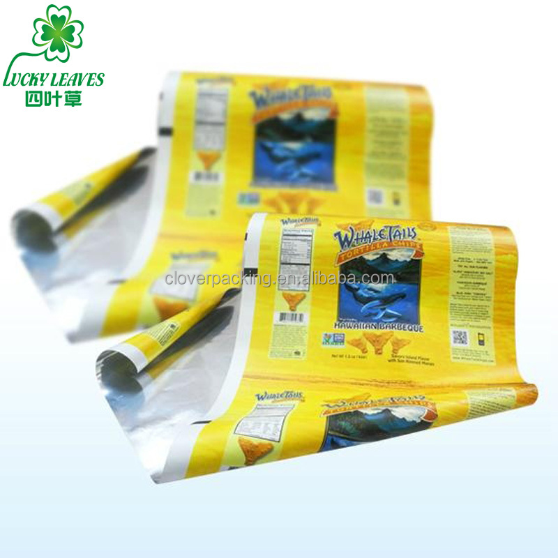 Gravure printed pet laminated packing materials composite roll film Printed plain film vmpet packing film for food&medicine
