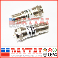 Metal male to female attenuator 1~20dB rf attenuator for CATV use