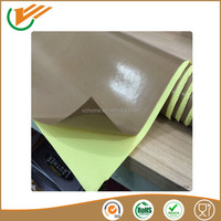 single sided ptfe/teflon coated glass fabric cloth tape with adhersive